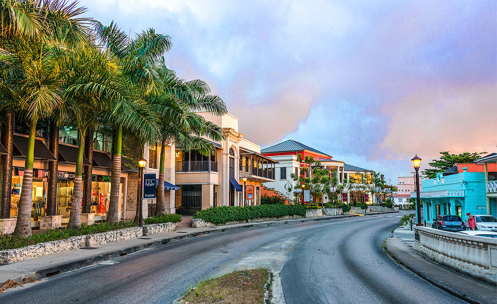 LIMEGROVE AS SEEN FROM HIGHWAY 1A